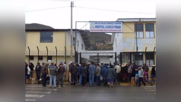 Accidente en Huamachuco