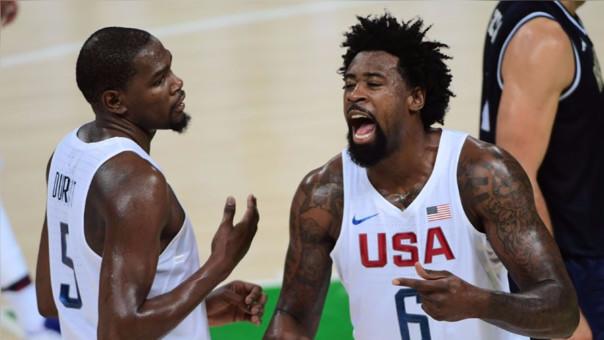 Estados Unidos rumbo a la semifinal de Río 2016.
