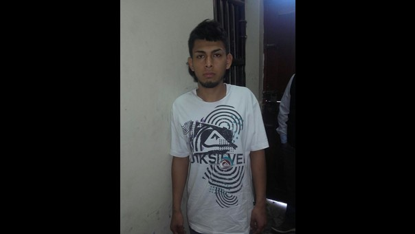 Detenido Aryton Casahuamán