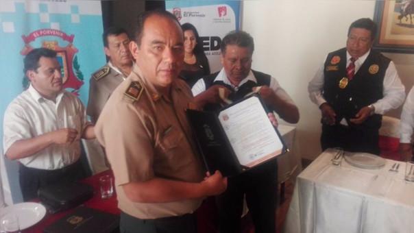 Trujillo: distinguen a policías que capturaron a 'Chino Malaco'