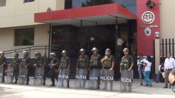 Juzgado dispuso medida contra agentes PNP
