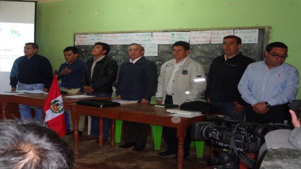Reunión multisectorial en la provincia de Cutervo para decidir futuro del nuevo hospital