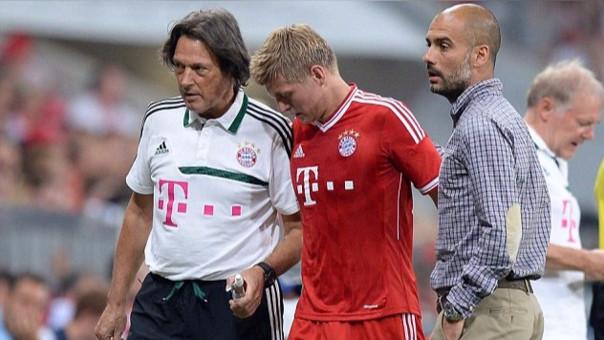 """Hans-Wilhelm Müller-Wohlfahrt fue doctor del Bayern Munich por 37 años hasta que llegó Pep Guardiola. """"Se trata de un gran profesional, lamento mucho que se vaya"""", manifestó Pep cuando el doctor renunció."""