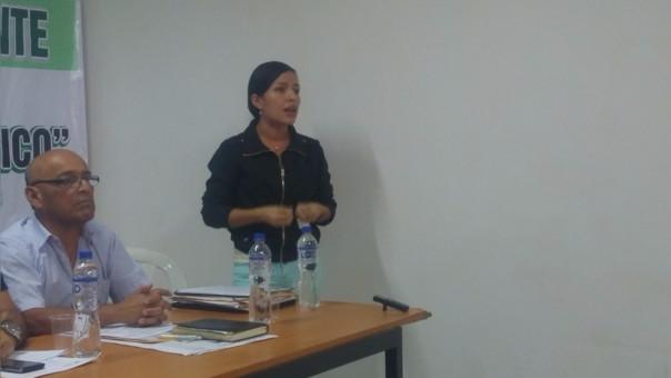 Dirigente Junet Jaramillo, anunció que se unirán al Frente de los intereses de Castilla.