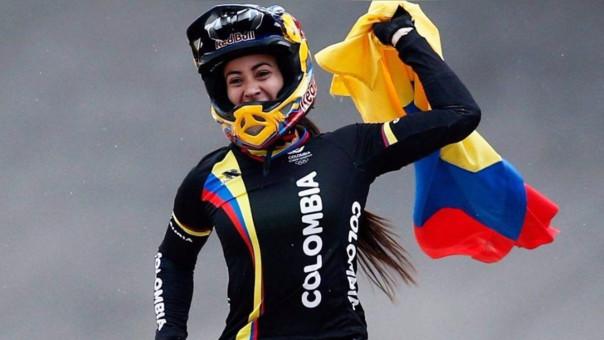 Mariana Pajón logró el tercer oro para Colombia.