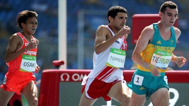 David Torrence fue el abanderado peruano en la clausura de Río 2016.