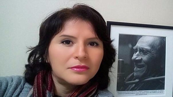 Celeste Acosta Román, hija de Manuel Acosta Ojeda