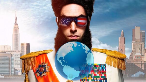 Sacha Baron Cohen protagonizó la comedia El dictador en 2012. En el mundo aún hay varias autocracias.