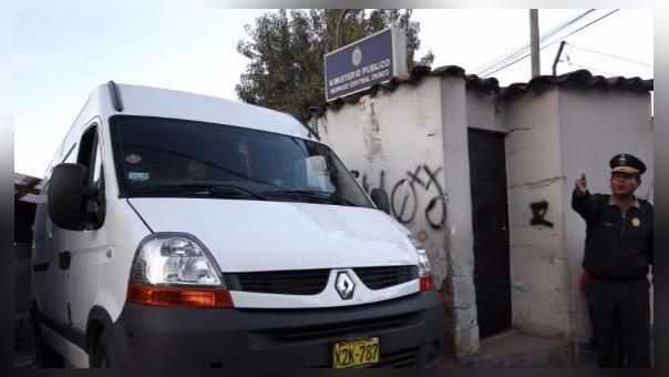 La policía trasladó el cuerpo hacia la morgue de Cusco