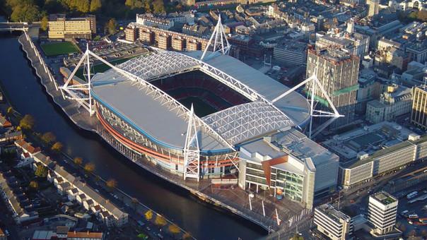 El Millenium Stadium será escenario de la próxima final de Champions League.