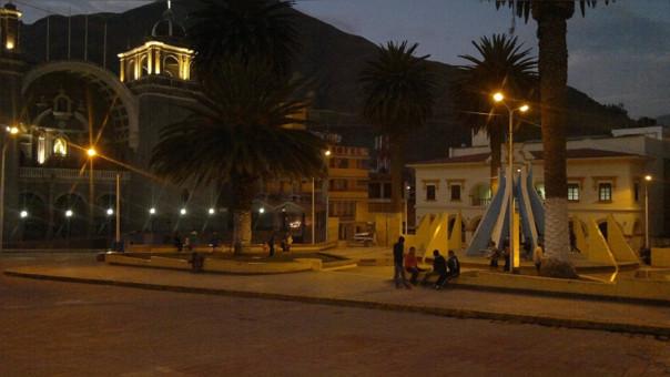 Plaza de armas Otuzco