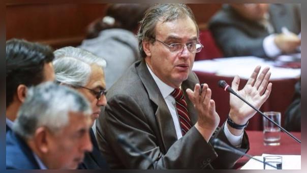 Ministro del Interior, Carlos Basombrío