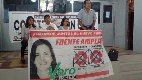 lideresa de Frente Amplio