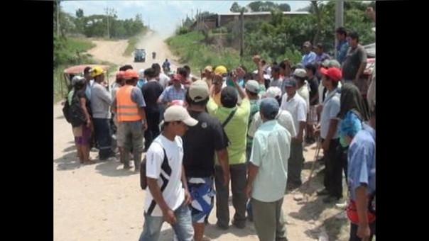 PCM pide levantamiento de huelga en Juanjui
