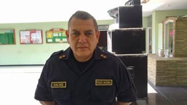 Jefe de la Región Policial Áncash, general Juan Gálvez.