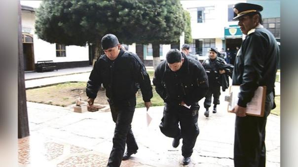 Policías recibieron prisión preventiva