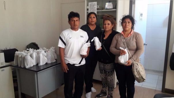 Desayunos fueron entregados a familiares de pacientes