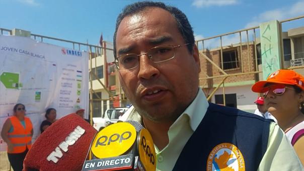 Jefe de Indeci, Agustín Basauri