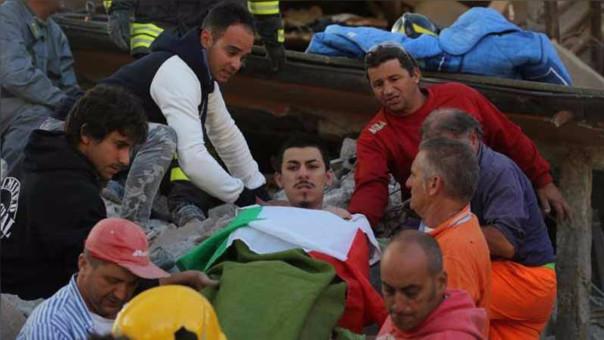 Hombre rescatado que se creyó que era de nacionalidad peruana