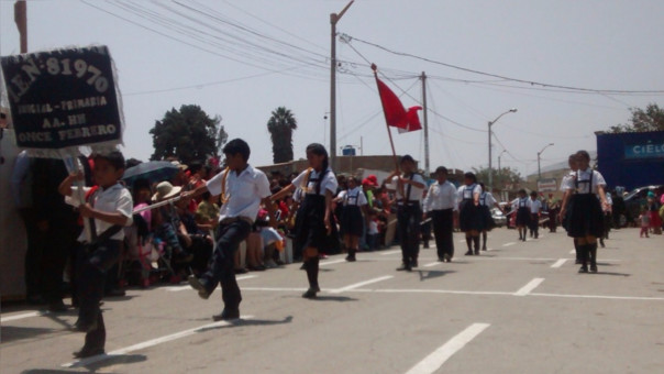Fiesta patronal en Chicama
