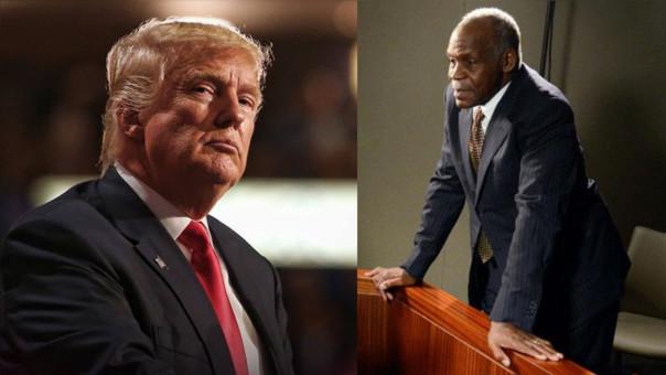Donald Trump y Danny Glover