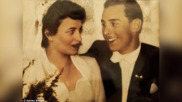 Ambos se conocieron porque sus  familias vivían en el mismo edificio, en 1954 deciden casarse en Dusseldorf, Alemania.