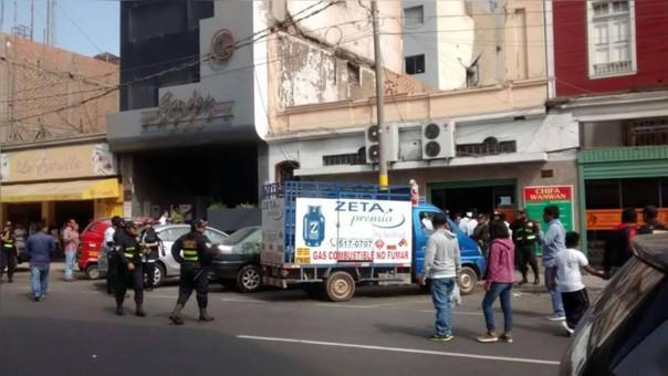 Emergencia en Chifa Wanwan