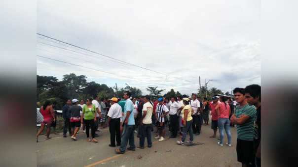 Huelga indefinida en Juanjui