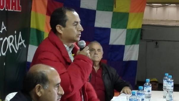 Gregorio Santos asegura que con nueva constitución se terminará con la corrupción dejada por Fujimori y Montesinos