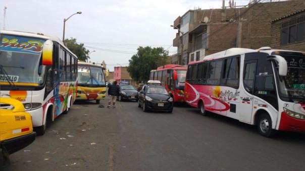 Transportistas y Municipalidad de Trujillo no llegan a acuerdos