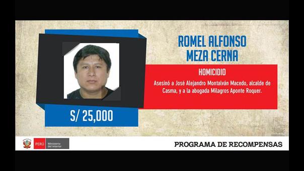 Exalcalde de Casma, Romel Meza Cerna