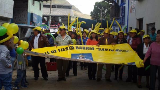 Otuzco: miles de devotos le rinden homenaje a Santa Rosa de Lima