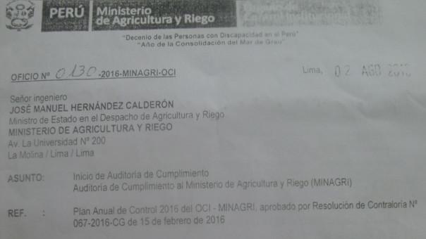 Documento de auditoria