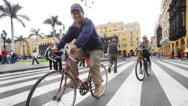 Ciclistas podrán llegar a Mistura