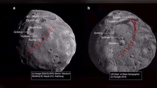 Fobos, la luna de Marte