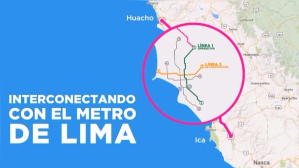 Le ministro de Transportes dijo que el Tren de Cercanías debe interconectarse con los medios de transporte masivo en Lima metropolitana.