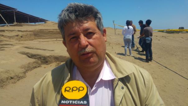 Carlos Wester dirige las excavaciones