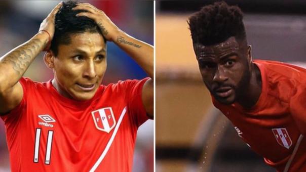 Ruidíaz y Ramos no tuvieron un buen partido ante Bolivia.