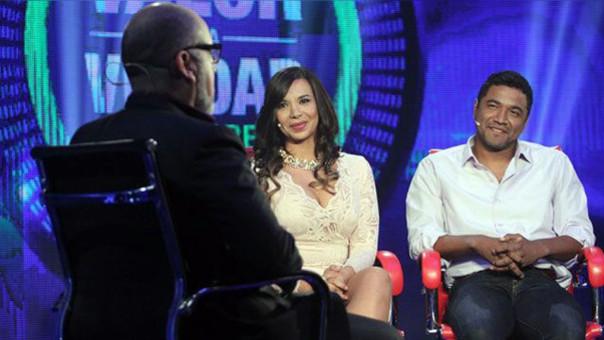 Chemo Ruiz y Mónica Cabrejos