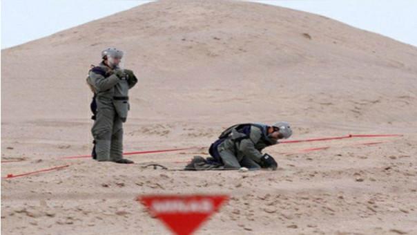 Explosión de mina en frontera de Perú y Chile dejó 2 heridos.