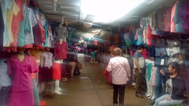 Seguridad en el mercado modelo de Chiclayo