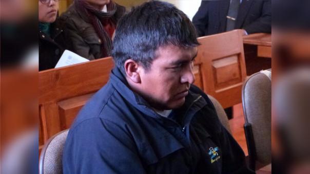 Marco Hidalgo Encinas Quispe aún está con detención preliminar.
