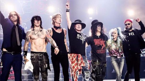 Guns N'Roses se presentará en Lima el próximo 27 de octubre.
