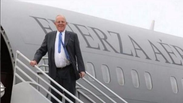 PPK cumplirá en China su primera visita oficial como presidente del Perú. Previamente hará una escala en Los Angeles.