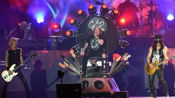 La banda llegará a Perú el próximo 27 de octubre.