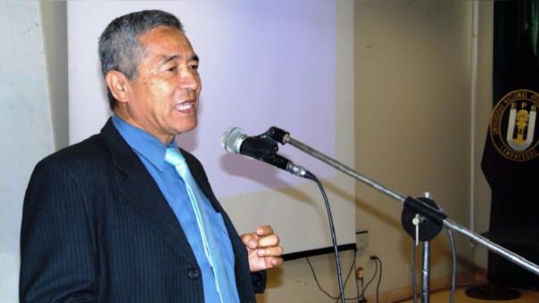 Ernesto Hashimoto Moncayo, vicerrector de Investigación de la UNPRG de Lambayeque