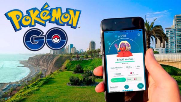 Pokémon Go llegó al Perú en agosto.