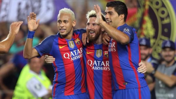 Messi, Suárez y Neymar jugarán su tercera temporada juntos.