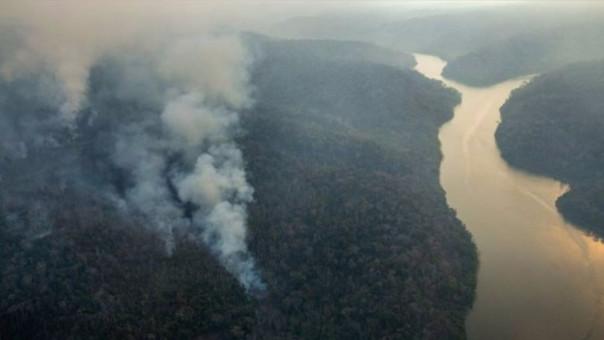 incendio forestal Satipo