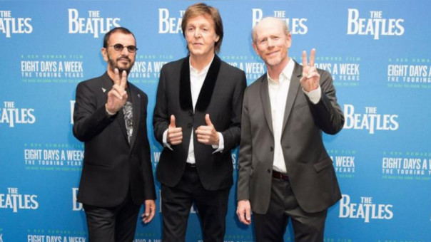 Image result for paul mccartney ron howard